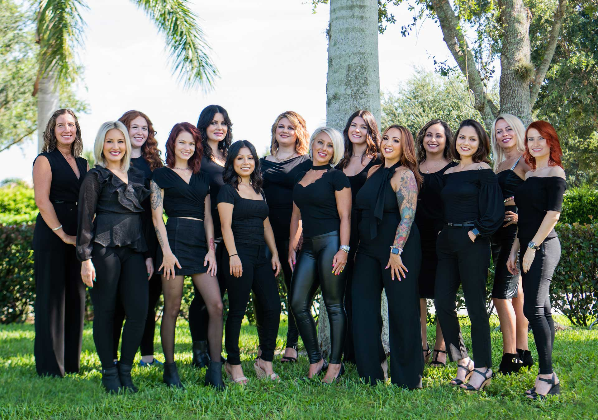 The beauty District team group shot