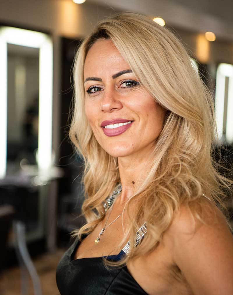 Nela - Hair Stylist at The Beauty District, Naples Florida